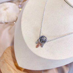 🎆NWT Openwork Seashell Dreamcatcher Necklace